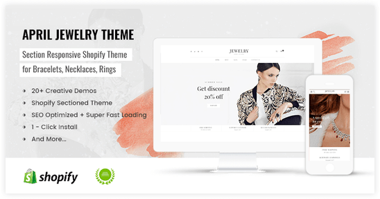 Shopify Luxury design for accessories store - preview