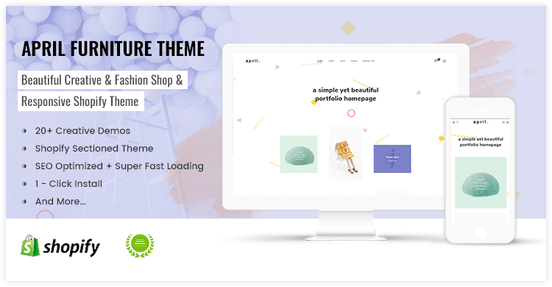 Great idea for portfolio homepage shopify theme - preview