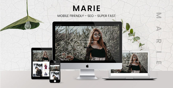 Preview of Marie - Fashion Boutique Shopify Theme - Sections Content Builder