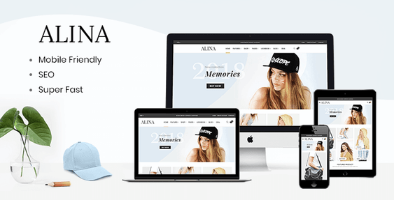 Alina - Shopify sectioned theme for fashion store
