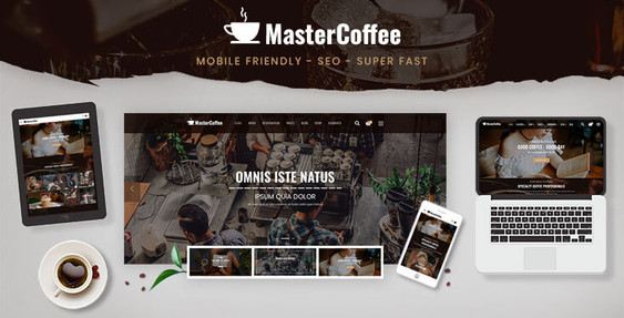 Preview of Coffee House Shopify Theme