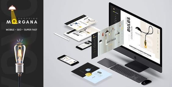 Morgana - Bulbs Store Shopify Theme