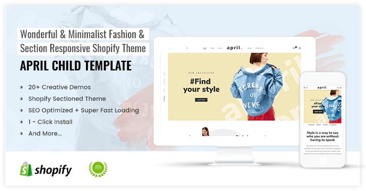 APRIL-04 - Fancy Theme for Fashion store