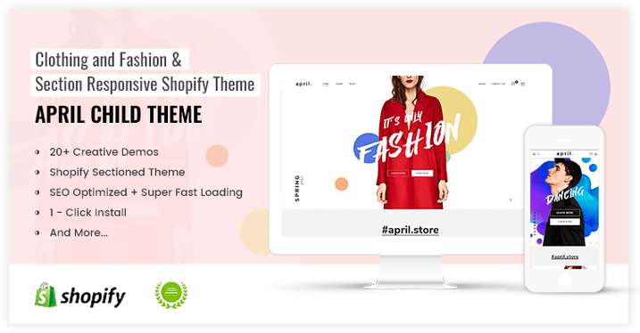 APRIL-05 - Wonderful Theme for Fashion store online