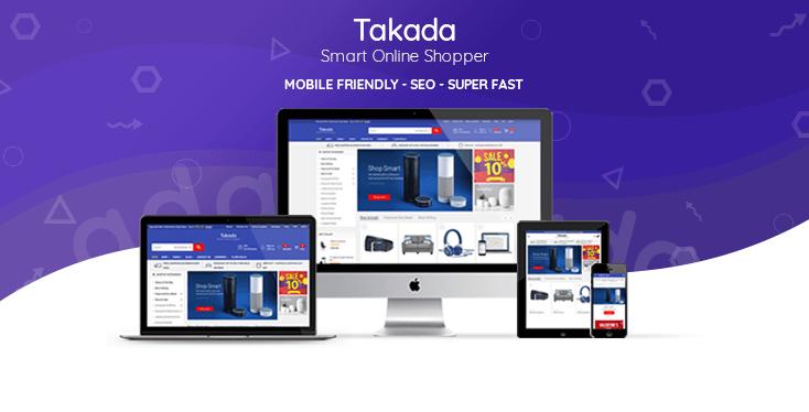 Shopify Takada Theme Preview
