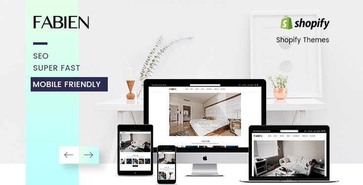 Preview of Fabien - Sectioned Shopify Theme for Furniture Store & Home Decoration