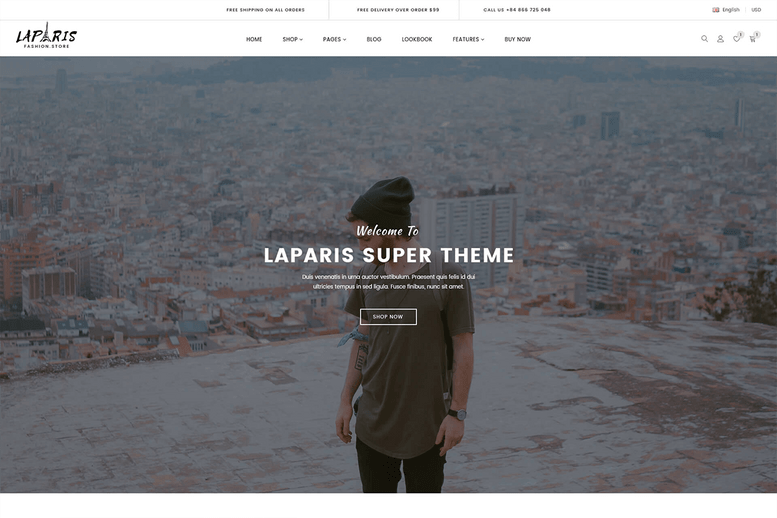 Beautiful sections shopify theme for online fashion store 2018 - La Paris #8