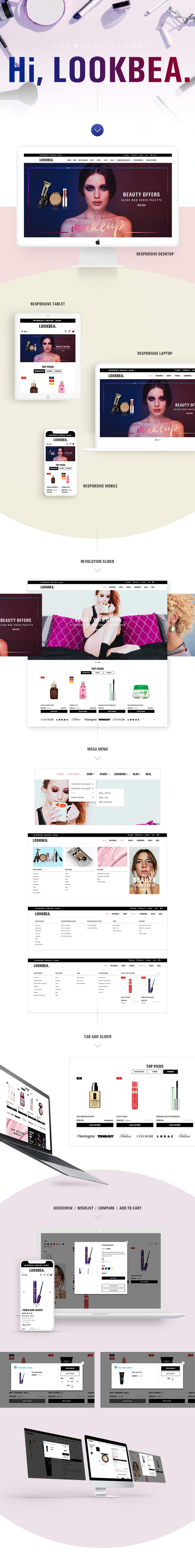 bigcommerce for Beauty and Cosmetic