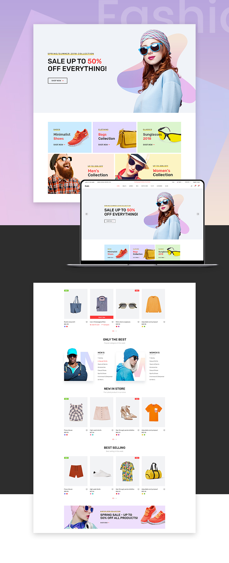 Marco Fashioneen Shopify theme