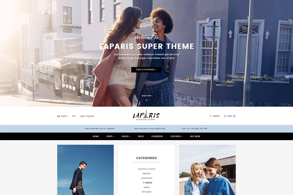 Incredible Section Shopify Theme For Online Accessories Store