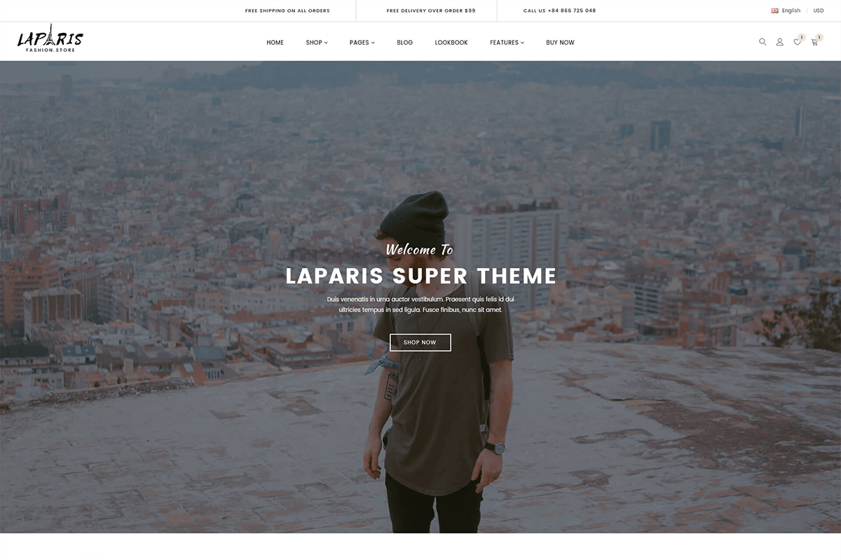 Beautiful Sections Shopify Theme For Clothing Store
