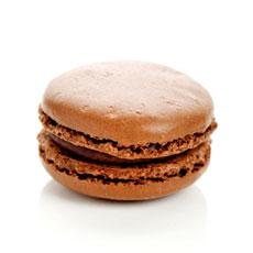 dark-chocolate-macaron