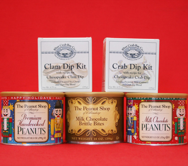 NUTCRACKERS AND DIPS PARTY GIFT BOX