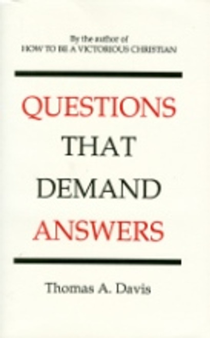 (E-Book)Questions That Demand Answers