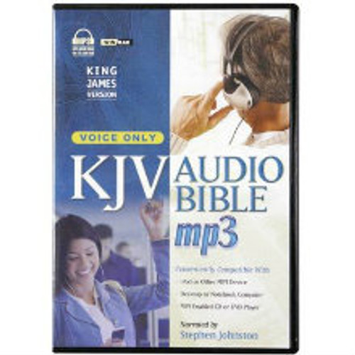 KJV Audio Bible MP3 narrated by Stephen Johnston