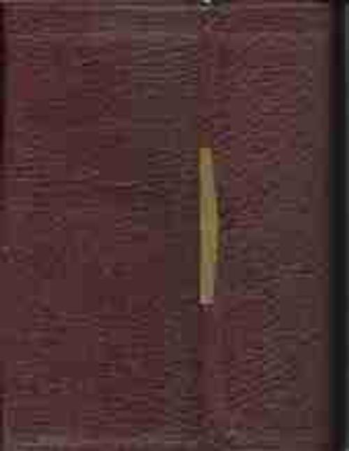 Bible Reference C/R Burgundy