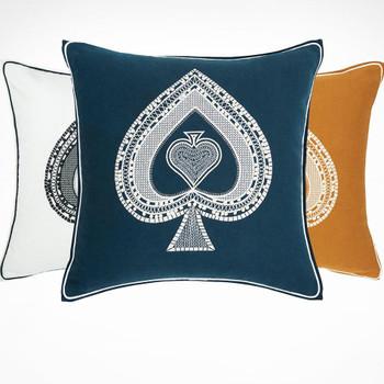 Yves Delorme Tarot Pique Decorative Pillow Gracious Home Simple Gracious Home Decorative Pillows