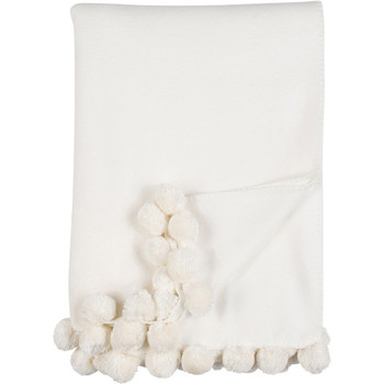 Malibu Luxxe Pom Pom Throw