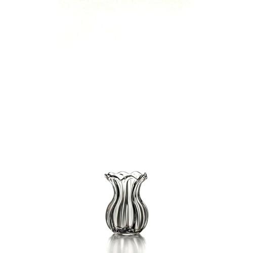 Simon Pearce Chelsea Optic Bud Vase In Gift Box Gracious Home