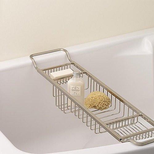 Valsan Essentials Adjustable Bath Tub Rack - Gracious Home