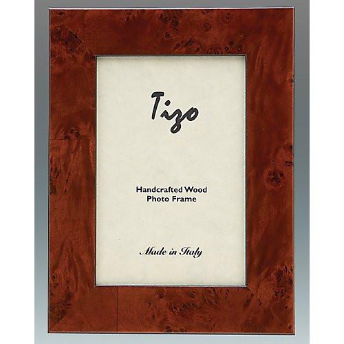 Tizo Burl Wide Wood Double Frames 4x6 Gracious Home
