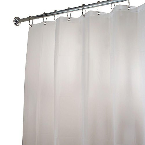 Poly White Shower Curtain Liner - Gracious Home
