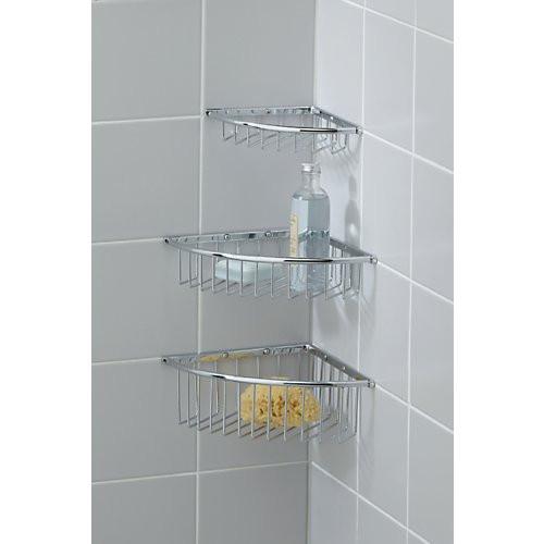 Valsan Essentials Corner Wire Soap Basket