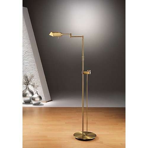 Holtkoetter classic reading floor lamp with side line dimmer holtkoetter classic reading floor lamp with side line dimmer 6317sld aloadofball Choice Image
