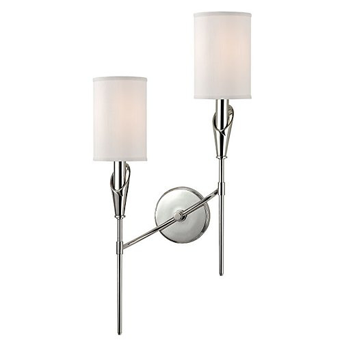 Hudson Valley Tate Double Wall Sconce  sc 1 st  Gracious Home & Lighting - Page 12 - Gracious Home