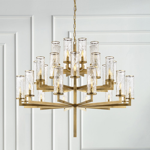 Kelly wearstler liaison triple tier chandelier gracious home