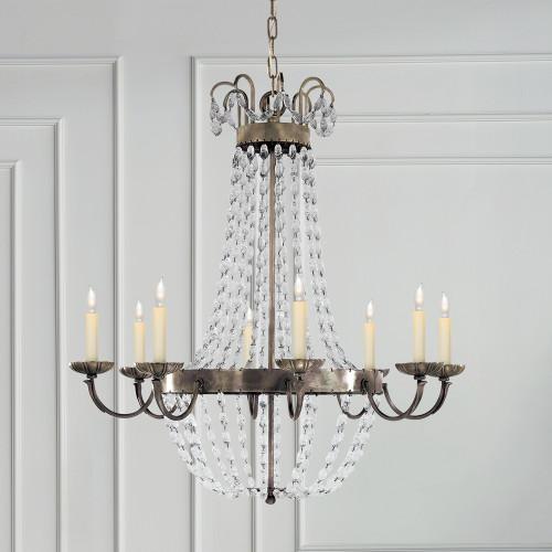 e f chapman paris flea market chandelier gracious home