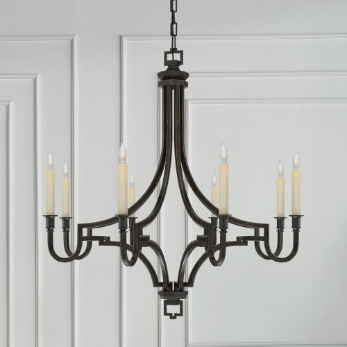 Lighting decorative lighting chandeliers page 1 gracious home visual comfort mykonos chandelier aloadofball Choice Image