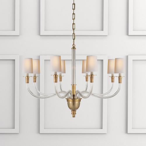 Thomas obrien vivian two tier chandelier gracious home visual comfort thomas obrien vivian two tier chandelier aloadofball Gallery