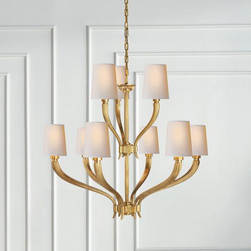 E f chapman ruhlmann two tier chandelier gracious home visual comfort e f chapman ruhlmann two tier chandelier aloadofball Gallery