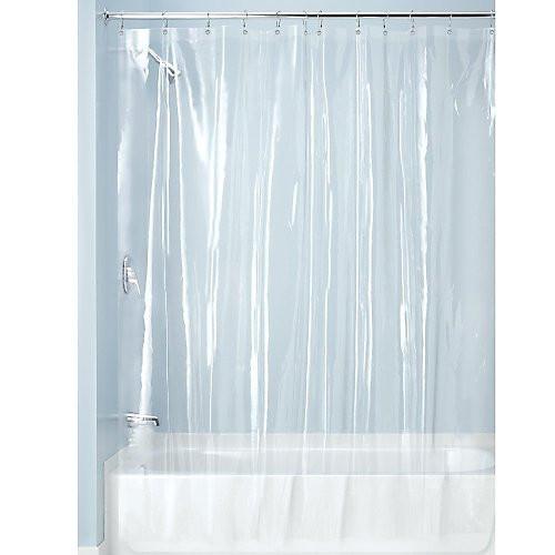 Superbe Clear Vinyl Shower Curtain Liner