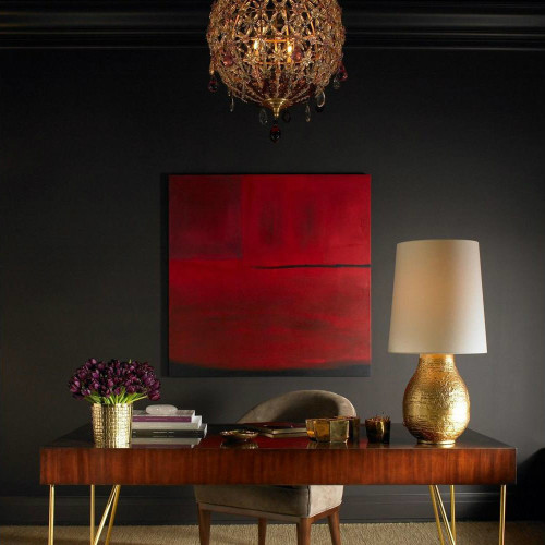 Aerin Bleeker Table Lamp In Gild