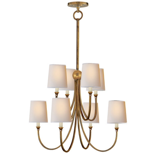 Thomas Ou0027Brien Reed Chandelier Antique Brass  sc 1 st  Gracious Home & Lighting - Decorative Lighting - Page 6 - Gracious Home