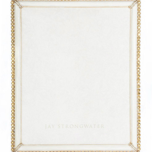 Jay Strongwater Laetitia Gold Stone Edge Frame 8X10 - Gracious Home