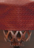Championship Westex Pool Table Cover 8' Braided Burgundy