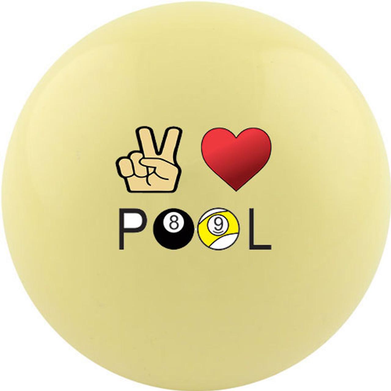Peace love poker
