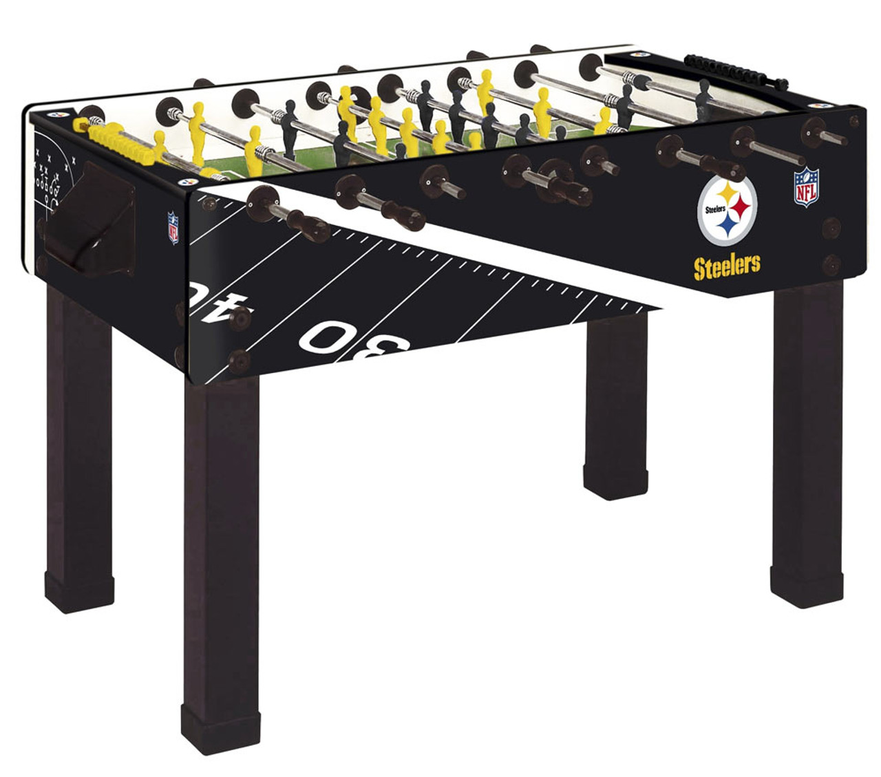 Garlando Foosball Table Pittsburgh Steelers Ozone Billiards - Official foosball table