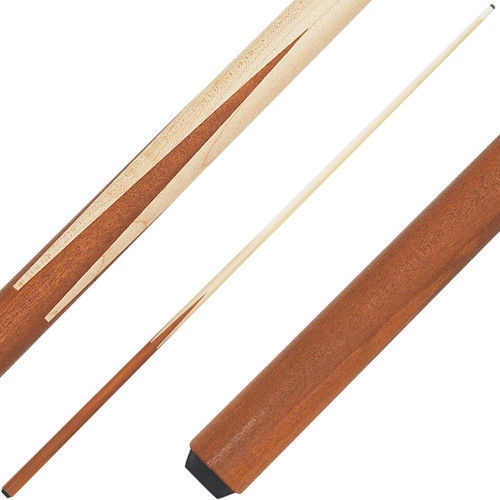 Economy One Piece Maple House Cue 36 Inch Cue Ozone