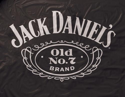 Jack Daniel's Black Vinyl Pool Table Cover