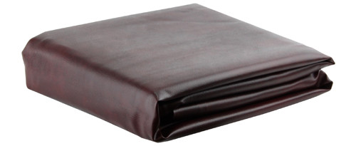 Ozone Burgundy Leatherette Pool Table Cover - 8 Foot