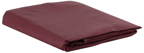 Burgundy Vinyl Pool Table Cover - 9 Foot