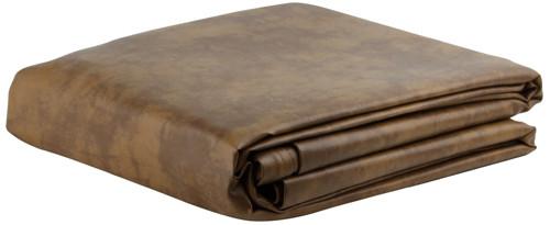 Ozone Saddle Leatherette Pool Table Cover - 9 Foot