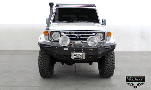 LAND CRUISER SERIE 70 2007- CURRENT  FRONT ULTIMA BUMPER PD-089-SP6