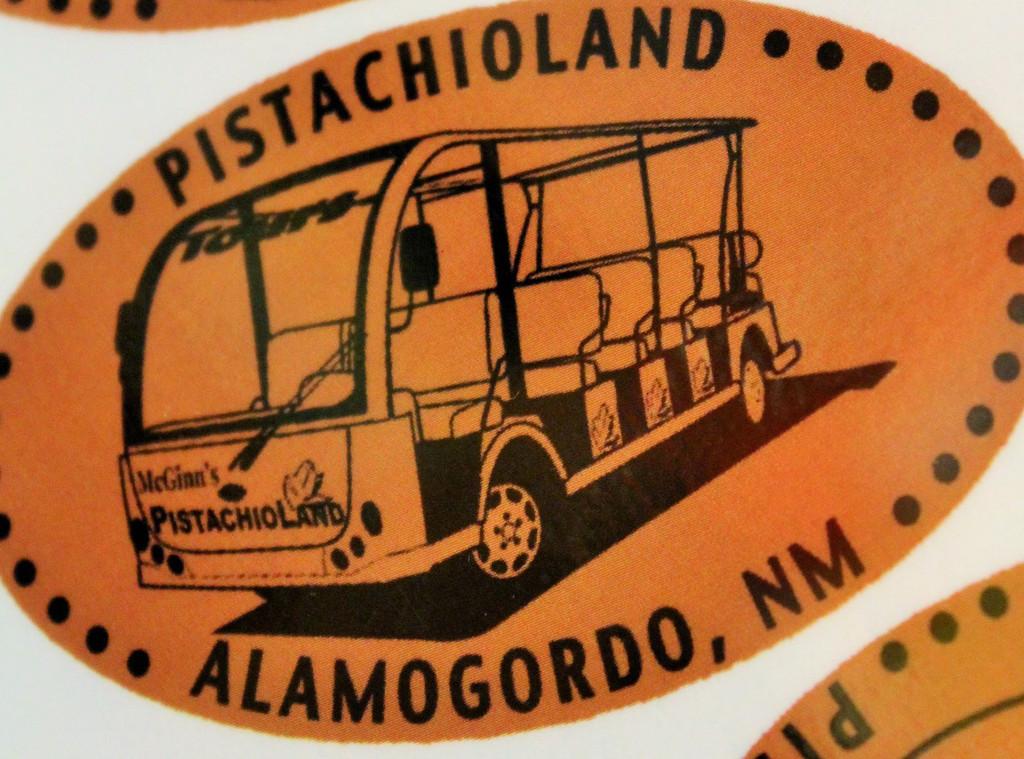 PistachioLand Tour Vehicle.