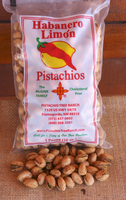 Habanero Limon In Shell Pistachios 16oz. poly bag