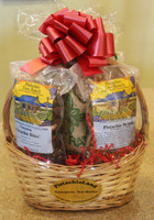 Gift #14 - Pistachio Nuts and Candy Gift Basket